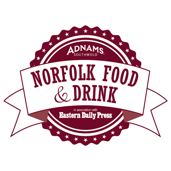 Norfolk Food & Drink Logo Burgundy