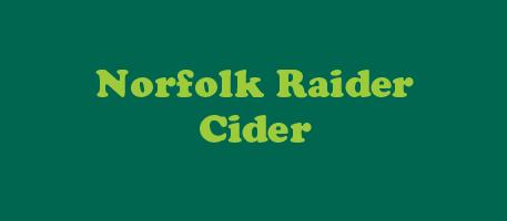Norfolk Raider Cider
